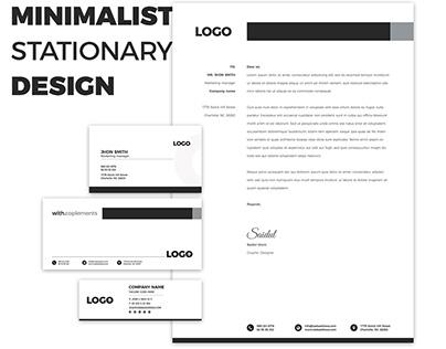 Minimalist Stationary design
