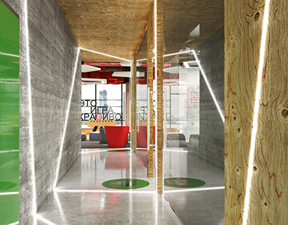 NSPK OFFICE CONCEPT, MOSCOW