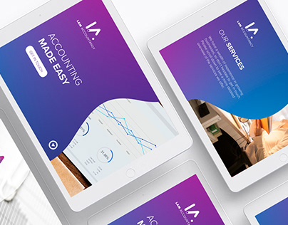 Lam Accountancy Visual Identity