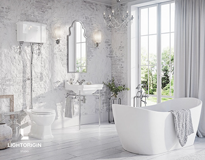 CGI - Bathroom design by LIGHT ORIGIN