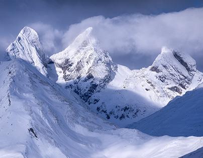 French Alps - Part I : Blue tones