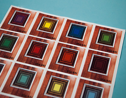 Josef Albers Stamp Collection