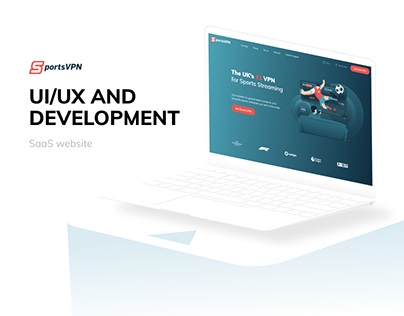 Sports VPN - UI/UX, Development