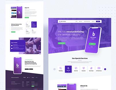 Behtreen - Mobile Application & Website Design