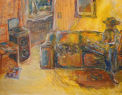 Musician onthe Sofa