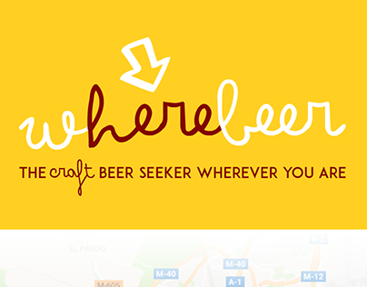 Wherebeer, the craft beer seeker wherever you are.