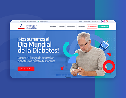 Dialysis Center Website