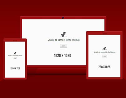 Responsive Web Browser PSD Mockup Free Download