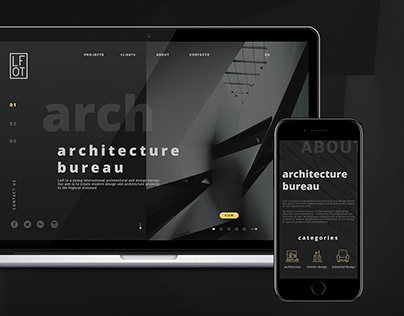 LOFT Architecture bureau Website