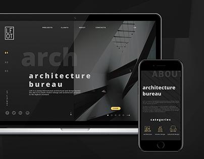LOFT Architecture bureau Website