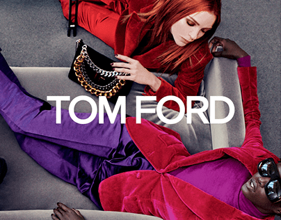 TOM FORD — Website Redesign