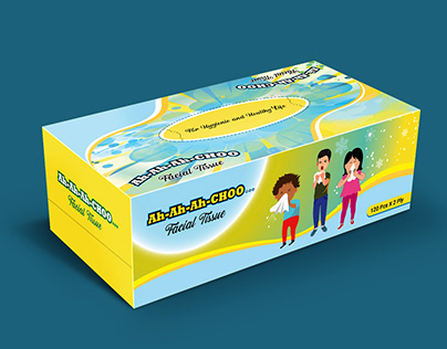 Customized Branding Creative Facial Tissue Box