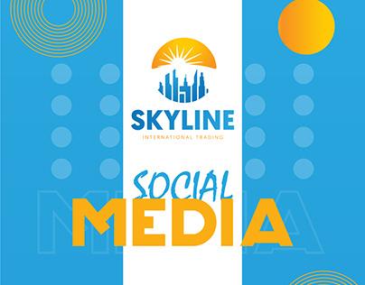 SKY LINE - social media