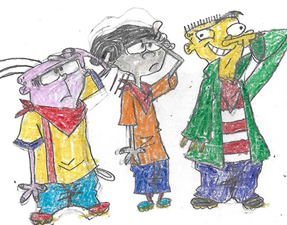 Ed Edd N Eddy Illustrations/Sketches 2009-2012