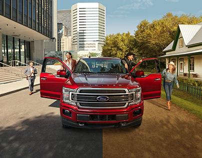 Ford F150 Western festival sponsorship