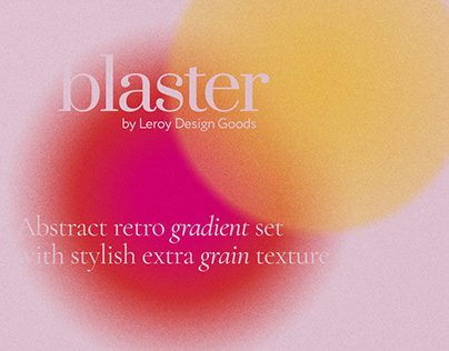 BLASTER Retro Gradient Textures
