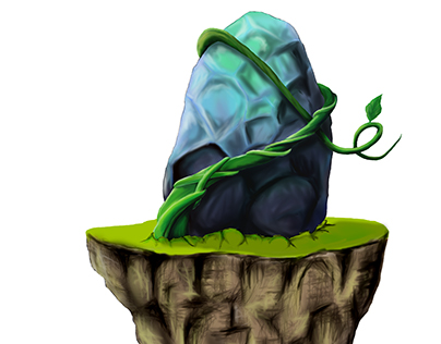 Illustration (Creepers and Stone)