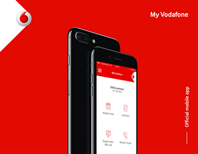 My Vodafone - official mobile app