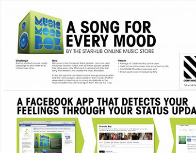 Adfest|OneShow|Effies_Music MoodBox_Online Engagement