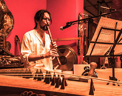 Ocean Of Sound: Pepe Danza Live @Prana Yoga College