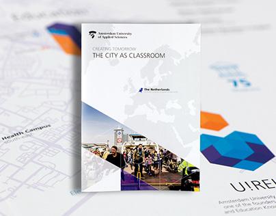 Int. Corporate Brochure, The city as classroom — AUAS
