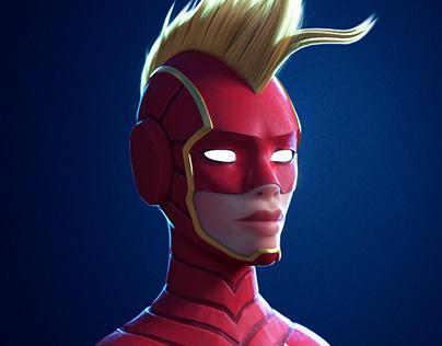 Captain Marvel - Fan Art