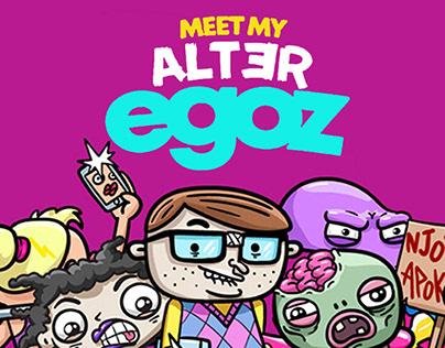 Meet My Alter Egoz I Boardgame