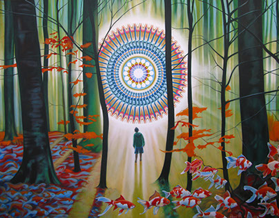 Mandala Forest, by Pascal Roy