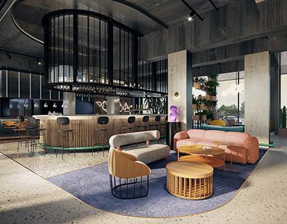 Hotel Concept in Cracow, Poland