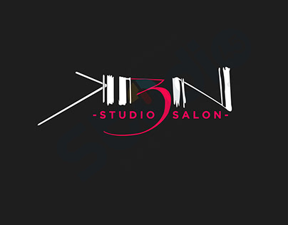 KBN STUDIO SALON / LOGO