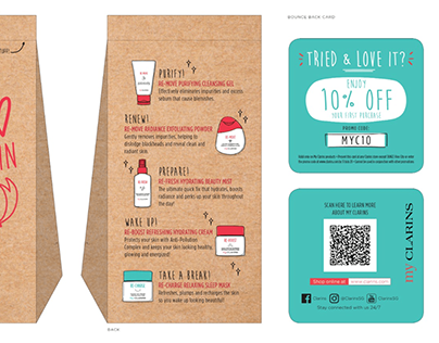 Product Illustration | Clarins Singapore