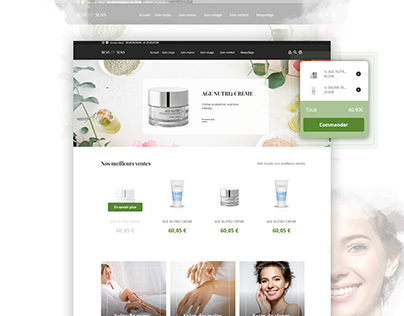 Beauty Institute Ecommerce