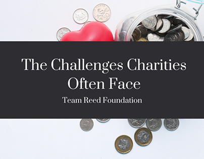 The Challenges Charities Often Face