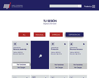MPI - App design