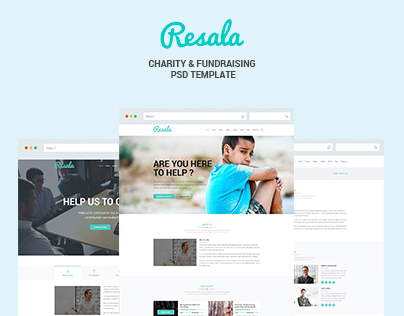 Resala - Charity & Fundraising Template