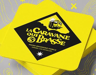 "La Caravane Brasse - Bière ""La Vagabonde"""