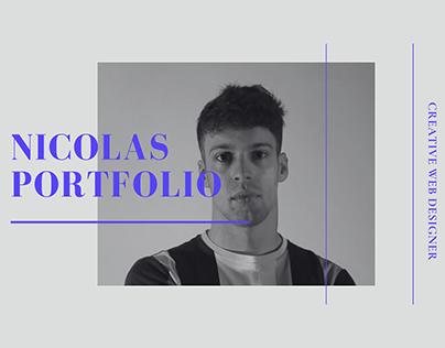 Portfolio Landing Page For Web Designer