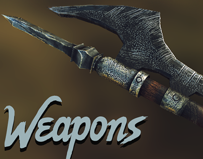 Some weapons for game