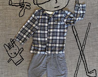 """JAMES YANG """"Sleepytime"""" in Flannel"""