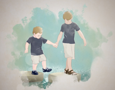 Watercolor illustrations - What brings us together