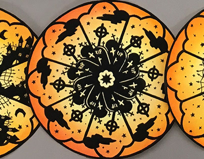 Halloween Theme Paper Products