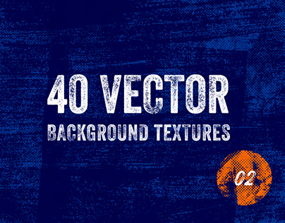 40 Vector Background Textures - V02