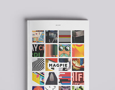 Magpie Magazine Editorial Design