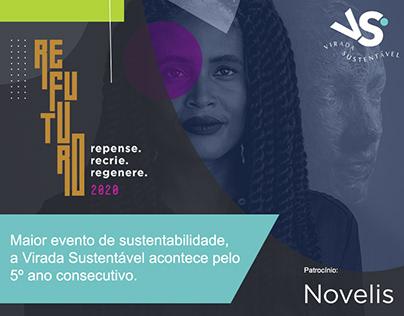 Social Media NOVELIS - Virada Sustentável SP 2020
