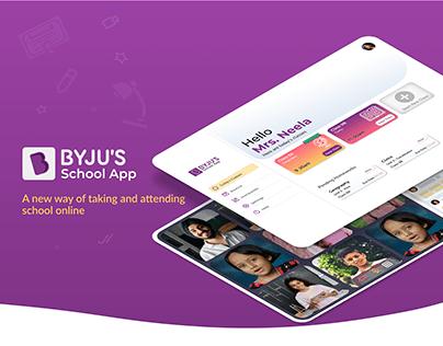 Online Schooling for the New Normal | UX UI Design Task