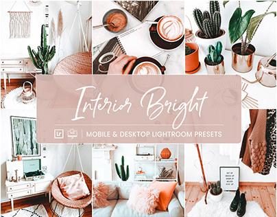Interior Bright - Mobile & Desktop Lightroom Presets
