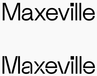 Maxeville Typeface