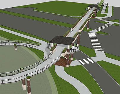 Woodville Highway Pedestrian Bridge