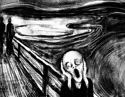 Edvard Munch Scream cover design