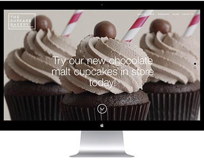 The Cupcake Bakery Personal Rebrand